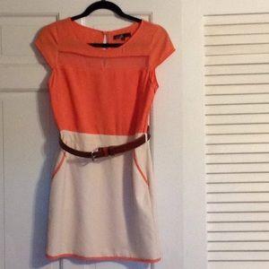 Size small peach dress